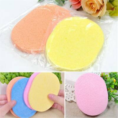 Soft Facial Cleansing Sponge Face Makeup Wash Pad Cleaning Powder Puff Remover