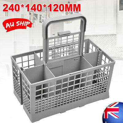Dishwasher Cutlery Basket Suits Many Brands 240mm X 135mm X 215mm Cage FLC