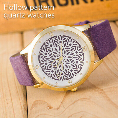 4071 Fashion Wristwatches Hollowed-Out Flower Decorative Women'S Watch Pointer