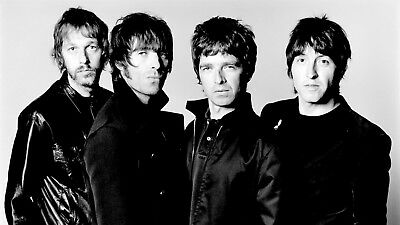 Oasis Music Rock Band - Liam And Noel Gallagher Iconic Wall Art Canvas Pictures