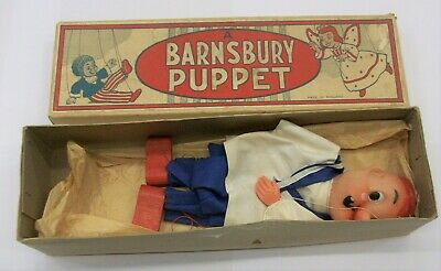 1950 / 1960 Barnsbury string puppet marionette, boxed , Sailor (popeye maybe )