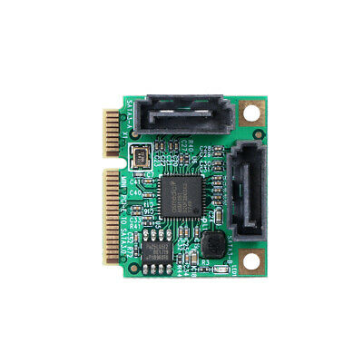 Mini PCI-E PCI Express To SATA 3.0 Extension Adapter Card Support Hot-Plug W0N4