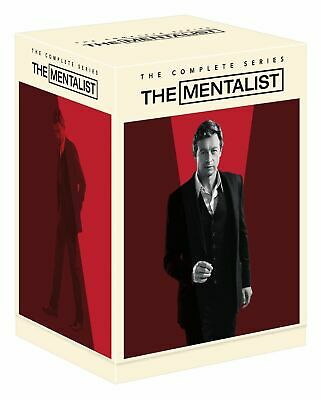 The Mentalist: The Complete Series 1 2 3 4 5 6 7 DVD BOX SET - NEW & SEALED