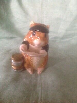 John Beswick Guinea Pig Playing/ Dealing Cards