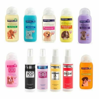 Ancol Fragrance Dog Cologne Perfume Scent & Fragrant Shampoo