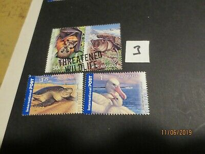 No--2---2007   Threatened  Wildlife  F/S  With  Inter;  4 Stamps  ----A1  Used