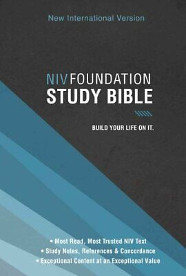 FOUNDATION STUDY BIBLE-NIV by Zondervan (English) Hardcover Book
