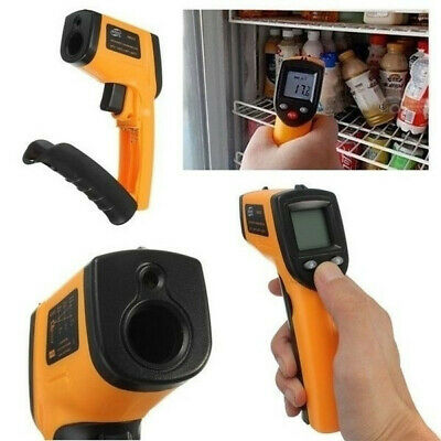Portable Non-Contact LCD IR Infrared Digital Temperature Thermometer HOT Yellow