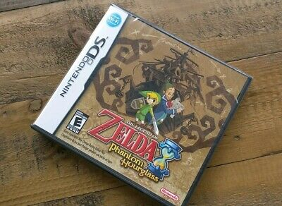 New Legend of Zelda Phantom Hourglass - Nintendo DS or 3DS Game - Factory Sealed