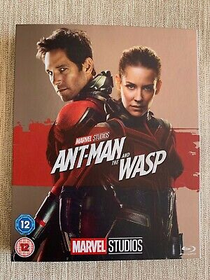Marvel Ant-Man and the Wasp Blu-ray with O-Ring