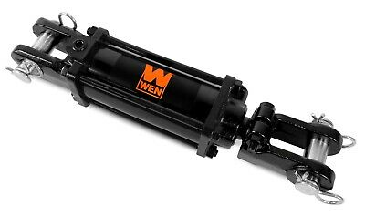 """WEN TR2506 2500 PSI Tie Rod Hydraulic Cylinder with 2.5"""" Bore and 6"""" Stroke"""