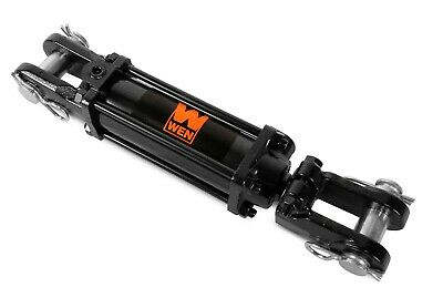 """WEN TR2008A 2500 PSI ASAE Tie Rod Hydraulic Cylinder with 2"""" Bore and 8"""" Stroke"""