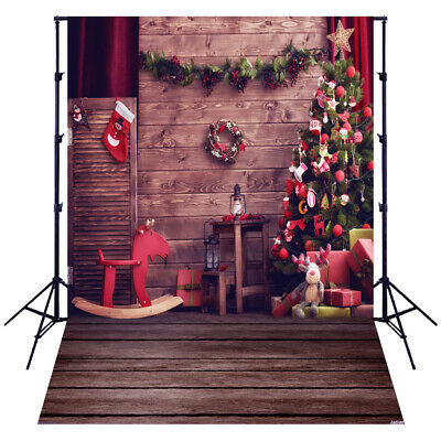 Andoer 1.5*2 meters / 5*7 feet Christmas Holiday Theme Background Photo T2H8