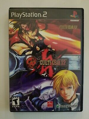 Guilty Gear X2 (Sony PlayStation 2, 2003)BLACK LABEL / C.I.B
