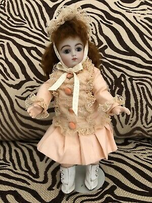 ANTIQUE FRENCH REPRODUCTION DOLL, Cabinet Size, Wonderful, Look!!!
