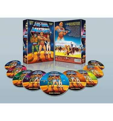 He-Man y los Masters del Universo Temporada 1 Pack 9 DVDs 1983 He-Man and the Ma