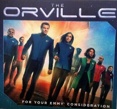 The Orville, Seth MacFarlane 2nd Season 2019 Emmy FYC DVD IDENTITY Parts 1 & 2