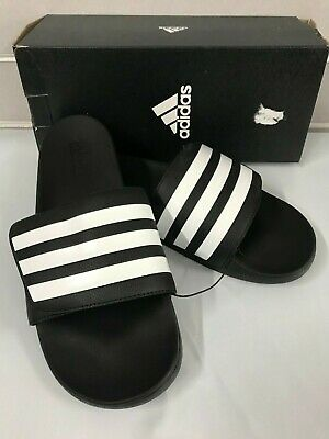 Adidas Men's Sport Slide Sandals EE5146 Black NEW Size 8, 9, 10, 11, 12, 13
