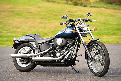2003 Harley-Davidson Softail  2003 Harley-Davidson Softail Night Train Nightrain FXSTB 100th Anniversary 5k!