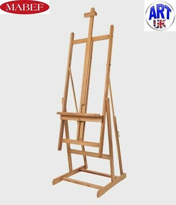 Mabef Professional Artists Beech Wood Convertible Studio Easel - M/08