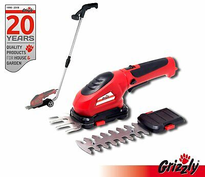 Grizzly Batterie Cisaille taille-haie Avec manche Taille-haie sans fil 3,6V