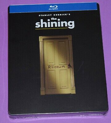 The Shining - Steelbook (Blu-ray 2018) NEW Stanley Kubrick