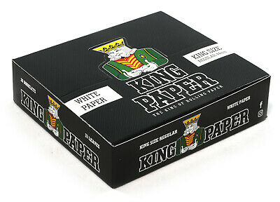 1 box - aLeda KING PAPER Regular King Size 44mm x 20 booklets - total 660 papers