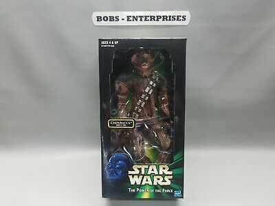 "Star Wars Power of the Force POTF 12"" Action Figure  Chewbacca good shape fig-31"