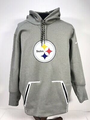 best sneakers 61b4d 0efe5 PITTSBURGH STEELERS NIKE Therma- Fit Men's XL On Field Apparel Hoodie NFL
