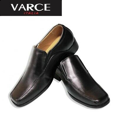 Varce Italia Slip-On Black Shoes
