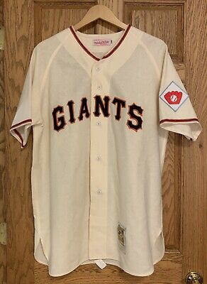 online store 7a56c 247c9 NEW YORK GIANTS Willie Mays Throwback Gray Replica Mens ...