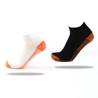 2Pcs Foot Compression Sleeve Relieve Heel Swelling Varicosity Sock #AM8