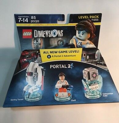 Lego Dimensions PORTAL 2 LEVEL PACK (71203)  New Box