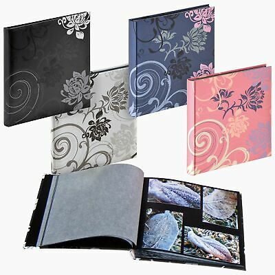Grindy 30x30cm drymount photo album, 60 acid-free black pages with interleaving