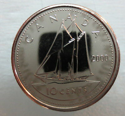 2000W Canada 10 Cents Proof-Like Coin