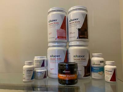 Isagenix Weight Loss Basic Pack 30 day system ~Brand New~~Same Day ship~