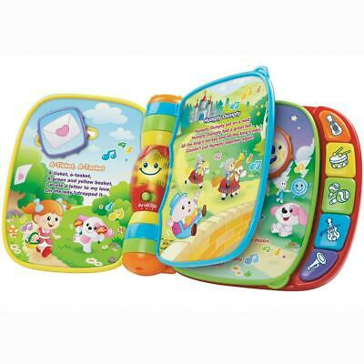 Musical Rhymes Book - VTech Free Shipping!