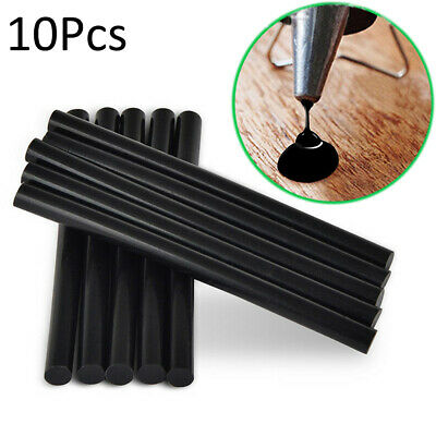 10pcs 7*100mm Black Paintless Dent Hail Removal Glue Sticks Car Body Puller Tool