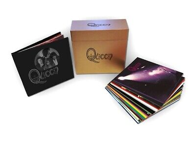 queen The Studio Collection (180 gr. Limited Coloured Vinyl + Book Edition)
