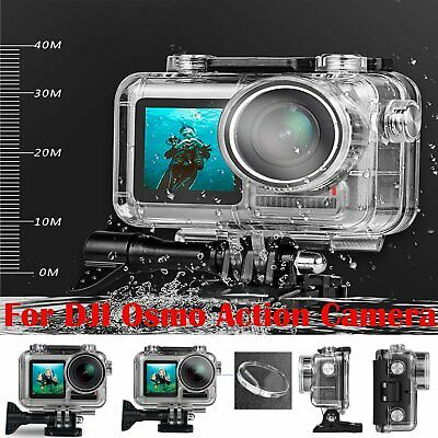 New For DJI Osmo Action Camera Waterproof Housing Case Replace Cover 88*45*77mm