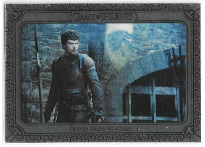 Theon Takes Winterfell 34 2019 Rittenhouse Game of Thrones Inflexions Silver /75