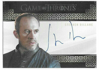 Stephen Dillane Stannis Baratheon 2019 Game of Thrones Inflexions Auto Autograph