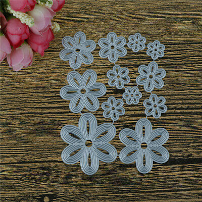 Flowers Design Metal Cutting Dies For Diy Scrapbooking Album Paper OX