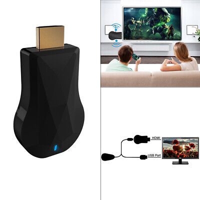 HDMI WiFi Display Dongle YouTube Netflix AirPlay Miracast TV Stick Adapter New