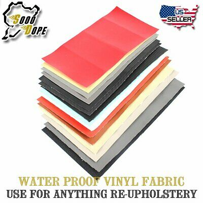 """Marine Grade Vinyl Fabric Upholstery 54""""W Faux Leather Replace Durable 1-10Yard"""