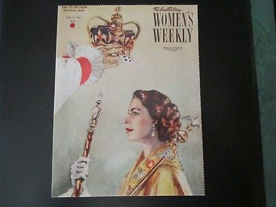 2 x Women's Weekly Postcard 1948/1953