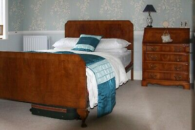 Vintage George V1 Double Bed made byStaples & Co