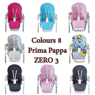 Peg Perego Prima Pappa Zero 3, Siesta Cover Highchair Cushion Replacement