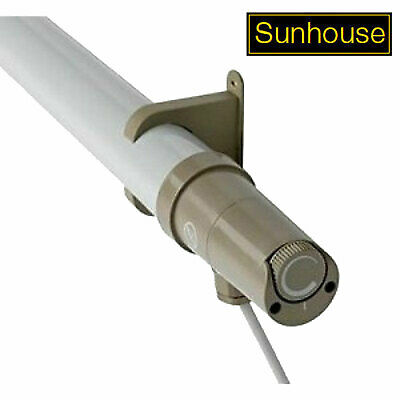 Sunhouse 120W Eco Tubular Heater with 3ft Tube and Built In Stat Thermostat