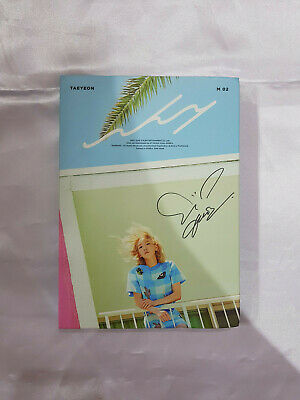 """SNSD TAEYEON Autographed """"Why"""" 2nd Mini Album Signed PROMO CD"""